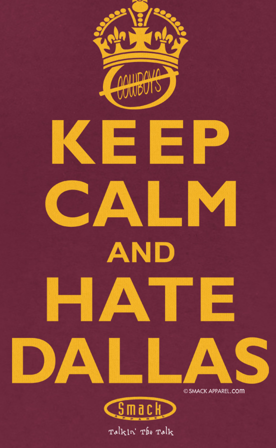 Anti-Cowboys Washington Redskins Shirt Design