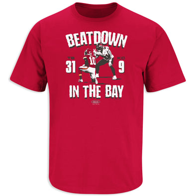 Bucs Super Bowl Champs Shirt Beatdown in the Bay