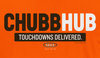 Cleveland Football Fans. Chubb-Hub. Brown or Orange T-Shirt (Sm-5x)