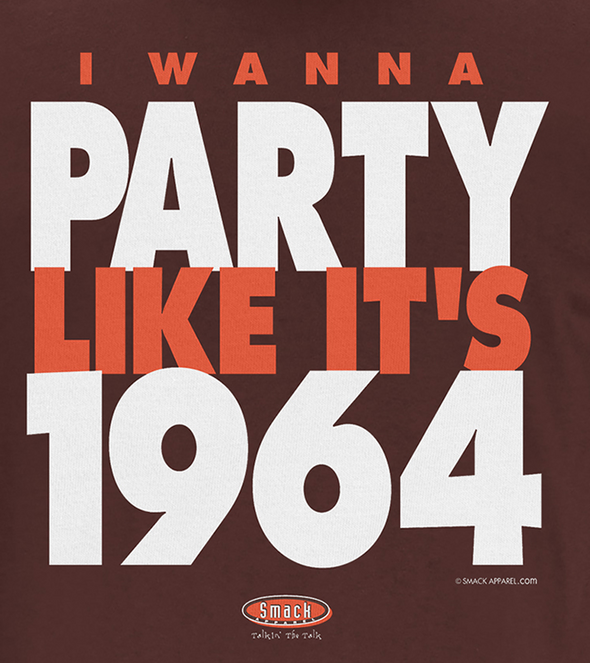 Cleveland Pro Football Apparel | Buy Cleveland Fan Gear | Party Like It's 1964