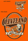 Cleveland Football Fans. Cleveland a Drinking Town with a Football Problem. Orange T-Shirt (Sm-5X)