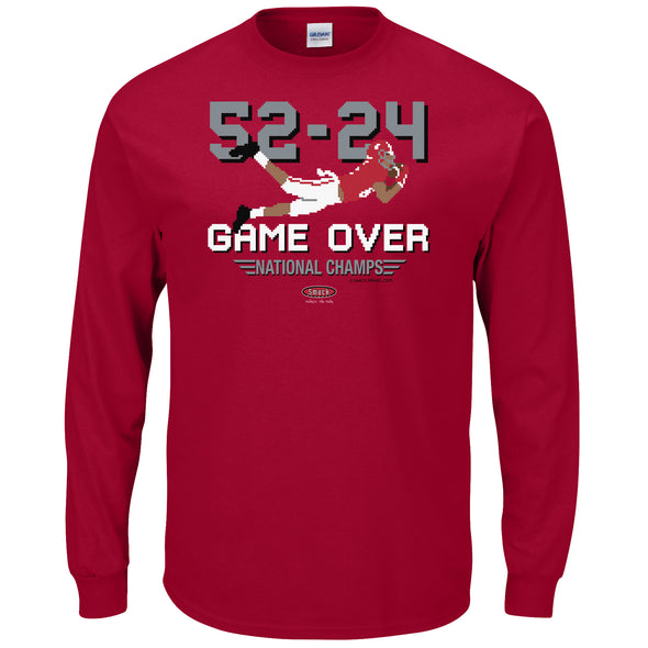 Game Over: National Champs Shirt | Alabama College Apparel | Shop Unlicensed Alabama Gear