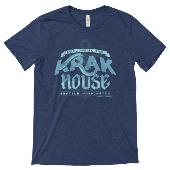 Welcome to the Krak House Seattle Hockey Shirt | Seattle Pro Hockey Apparel | Shop Unlicensed Seattle Gear