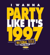 Michigan College Sports Apparel | Shop Unlicensed Michigan Gear | Party Like It's 1997 Shirt