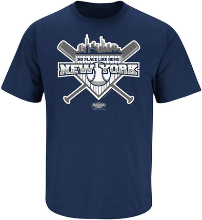 No Place Like Home NYY Shirt | New York Pro Baseball Apparel | Shop Unlicensed New York Gear