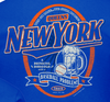 New York Pro Baseball Apparel | Shop Unlicensed New York Gear | Queens A Drinking Borough with a Baseball Problem Shirt