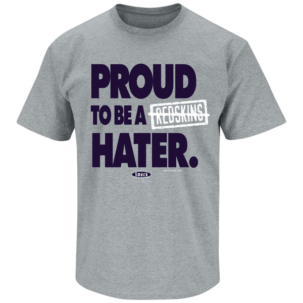 Auburn Tigers Fans. Proud to Be a Hater. Orange T Shirt (Sm-5X)
