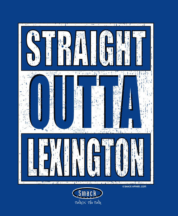 Kentucky College Apparel | Shop Unlicensed Kentucky Gear | Straight Outta Lexington Shirt