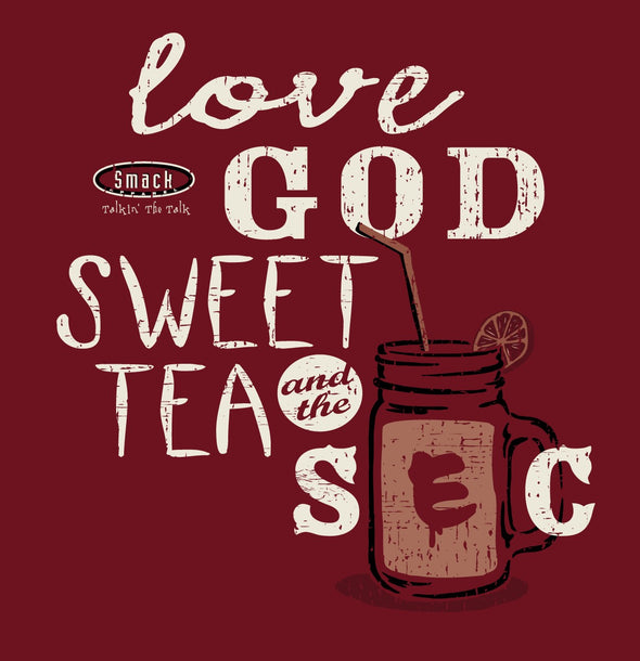 Alabama College Sports Unlicensed Ladies Apparel | Love, God, Sweet Tea and The SEC Ladies Shirt