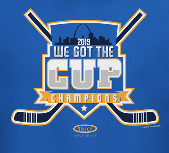 St. Louis Hockey Fans. We Got The Cup Royal T-Shirt Mens or Womens (Sm-5X)