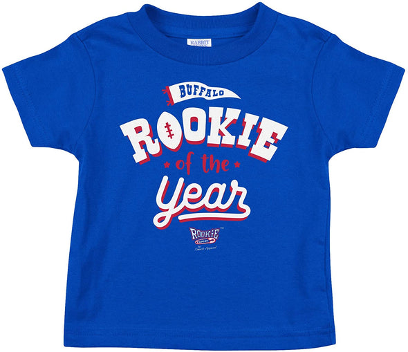 Rookie of the Year | Unlicensed Buffalo Pro Football Baby Bodysuits or Toddler Tees