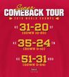 Kansas City Championship Shirt |  Comeback Tour | LIV Kansas City T-Shirt