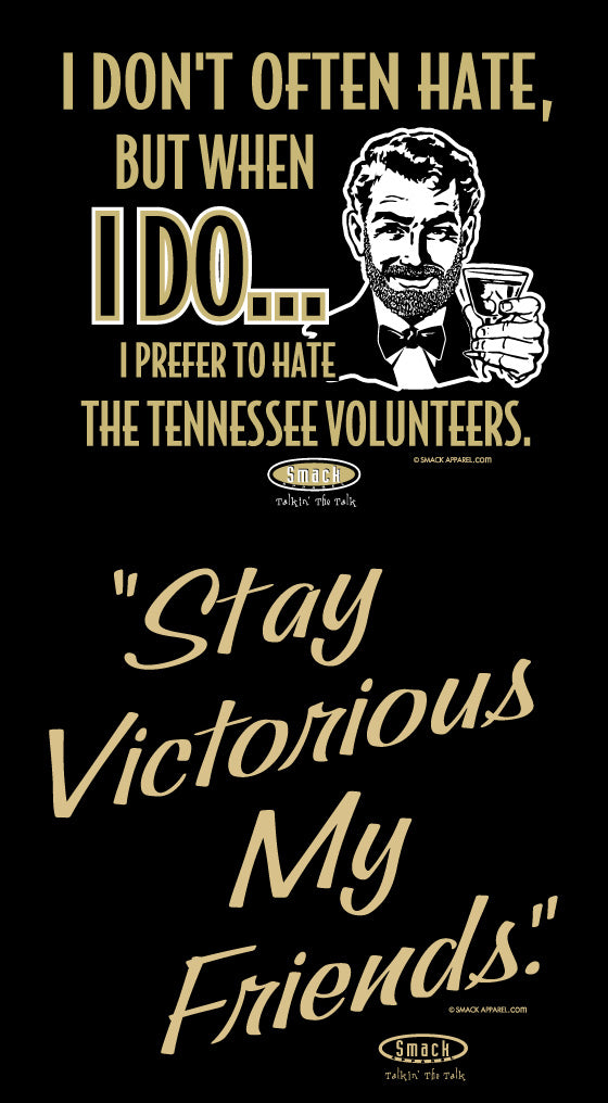 Vanderbilt College Apparel | Shop Unlicensed Vanderbilt Gear | Prefer to Hate the Tennessee Volunteers Shirt