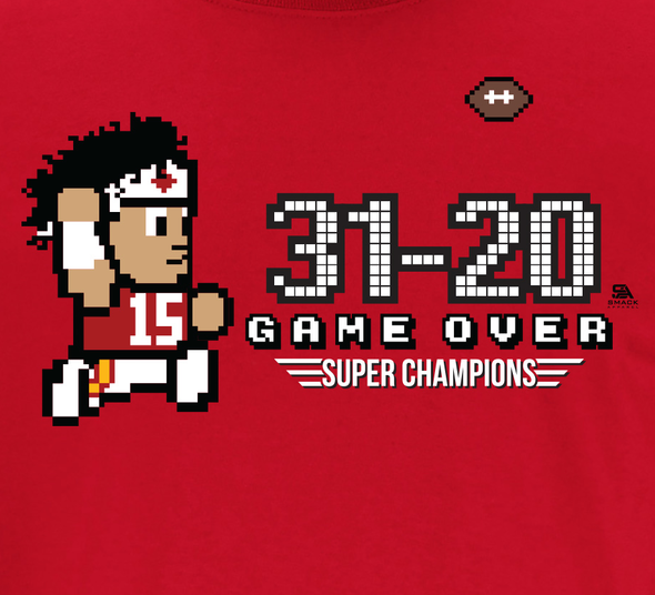 Kansas City Chiefs Super Bowl Champion T-Shirt