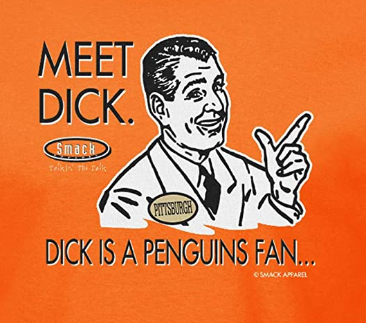 Don't Be a Dick (Anti-Penguins) Shirt | Philadelphia Pro Hockey Apparel | Shop Unlicensed Philadelphia Gear