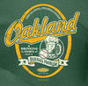 Oakland a Drinking Town with a Baseball Problem Shirt | Oakland Pro Baseball Apparel | Shop Unlicensed Oakland Gear