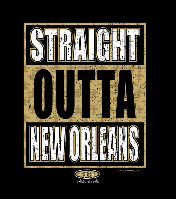 New Orleans Pro Football Apparel | Shop Unlicensed New Orleans Gear | Straight Outta New Orleans