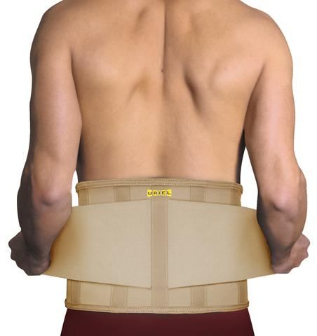 Uriel Meditex Adjustable Lumbar Back Brace |Black or Beige | sciatica,lumbar facet joint syndrome, spondylitis, post surgical