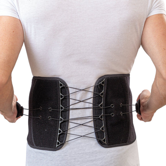 URIEL Lumbar Belt with Pull Cords | Provides Maximum Support for Strained, Sore and Aching Back