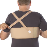 URIEL Rib Belt Forte | Compression and Immobilization Support for Fractured Ribs, Sternum and Thoracic Spine