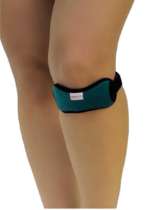 Tonus Elast from FlexaMed.  Tonus Elast  Patella Strap | Jumper's Knee | Chondromalacia Strap | patellar tendinitis,  No more knee pain!
