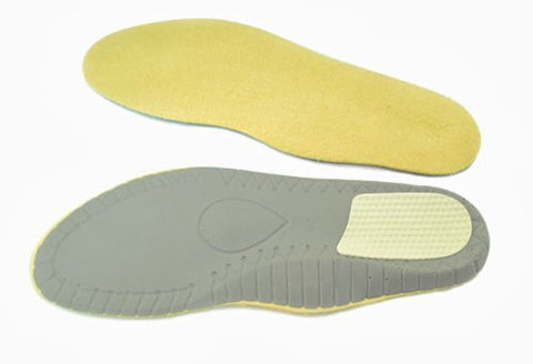 Meditex Orthopedic Insoles with Metatarsal Pad and Inner Arch Support