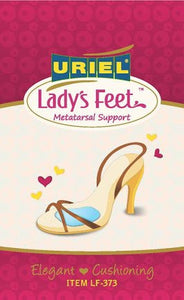 Meditex Silicone Metatarsal Supports for High-Heeled Shoes