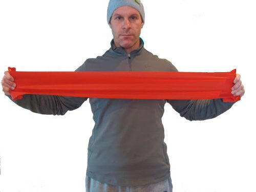 FlexaMed Resistance Band:  3 Levels for Strength for Rehab or Resistance Training