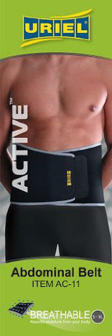 "Meditex Adjustable Abdominal Belt (Waist Support) - One Size Fits 30""-42"""