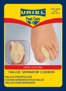 Uriel Advanced Hallux Valgus (Bunion) Separator Cushion (Toe Separator and Metatarsal Support Combination)