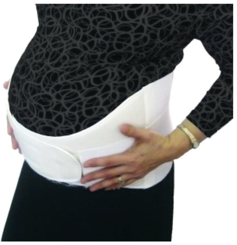 "MaternaBelt - Secure 6"" (Maternity Support Belly and Back Belt)"