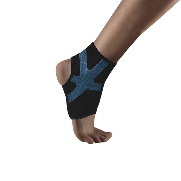 URIEL Compression Ankle Sleeve | Injection Silicone Compression Taping Sleeve