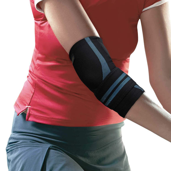 URIEL Compression Elbow Sleeve | Injection Silicone Compression Taping Sleeve