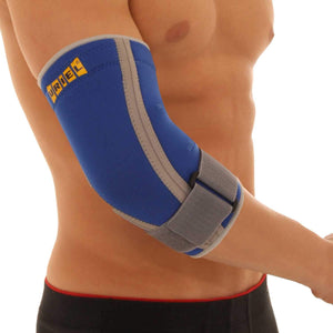 URIEL Thermo Neoprene Elbow Support Sleeve w/ Strap