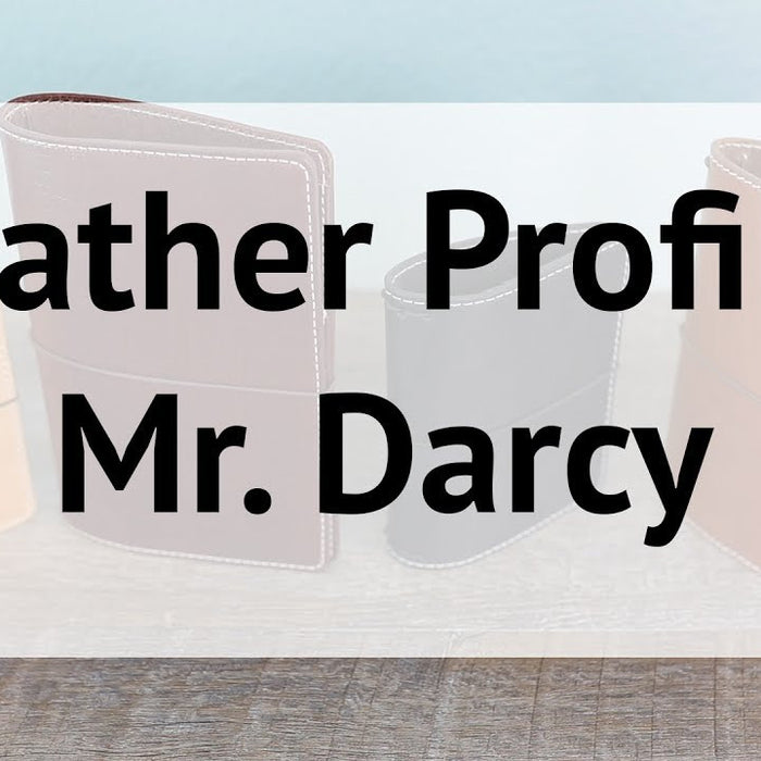 Mr. Darcy Leather Profile