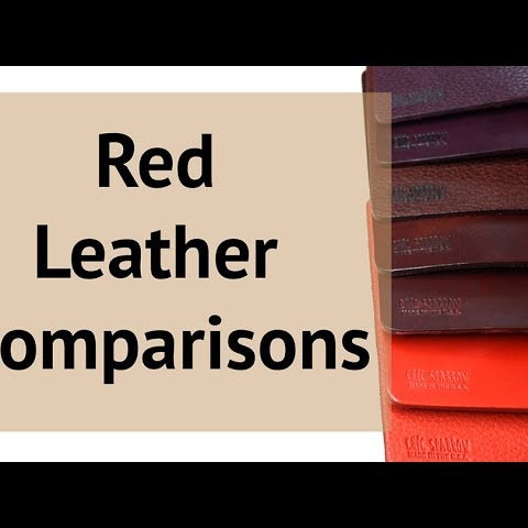 Red Leather Comparisons