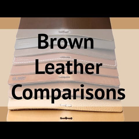 Brown Leather Comparisons