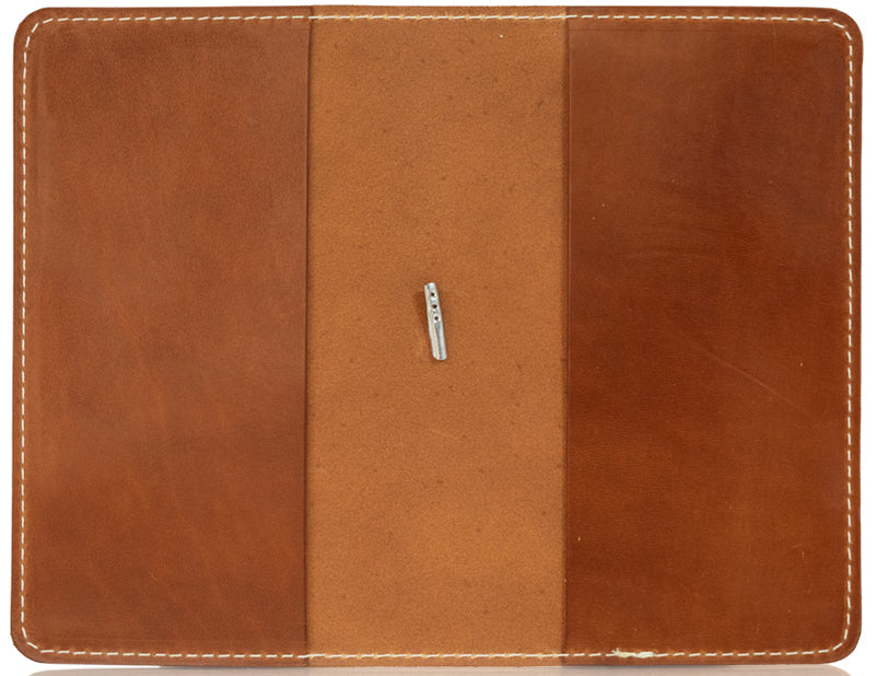 Leather Folio Notebook Cover