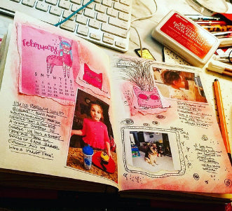 Miss Vicky Bee Journaling