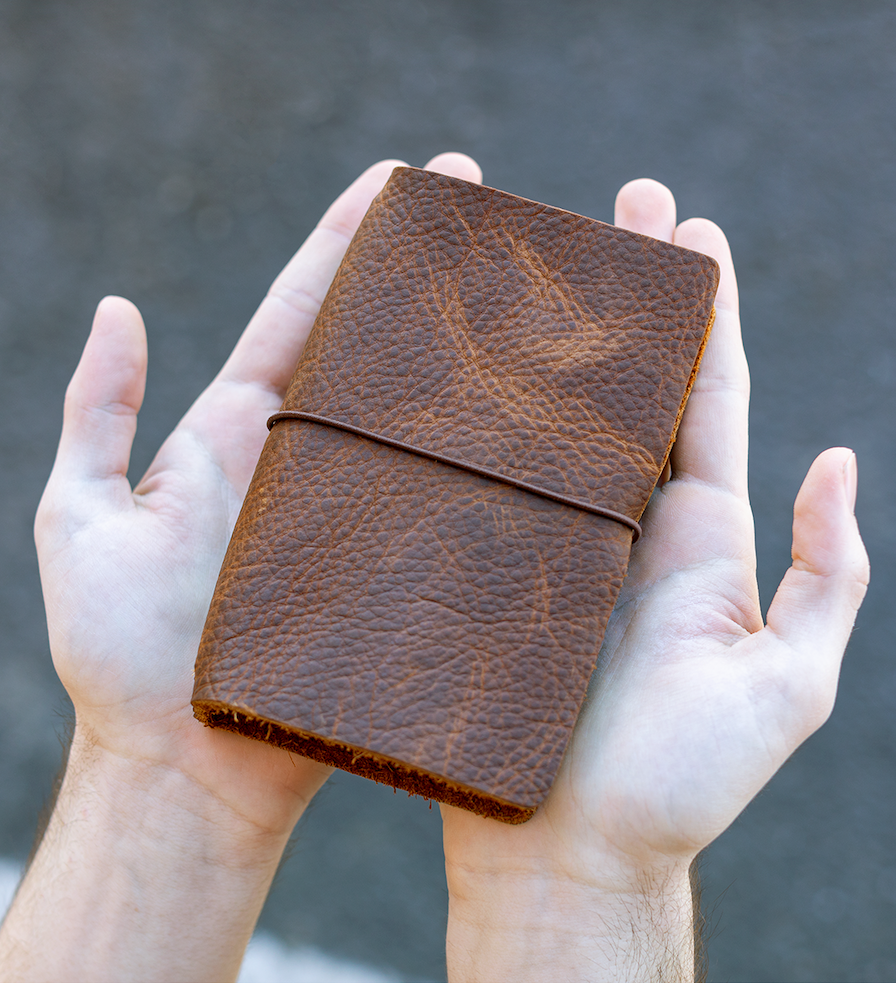 Soft Leather Notebook Cover