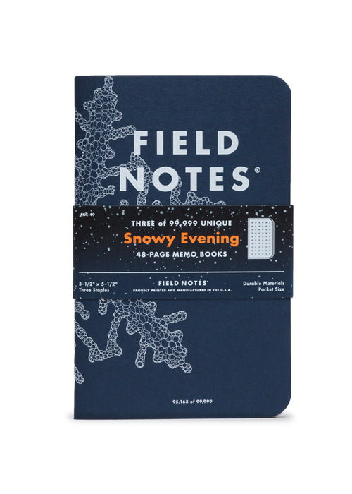 Snowy Evening | Field Notes Memo Books