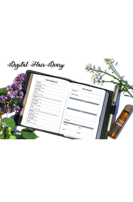 Digital File Hair Diary