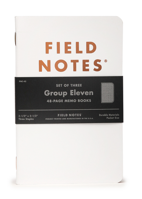 Group Eleven | Field Notes Memo Books