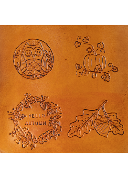 Autumn Delight | Deluxe Collector's Hand Tooled
