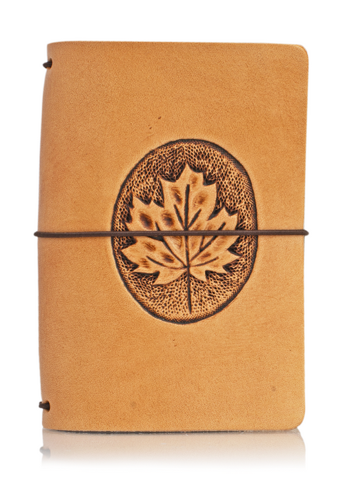 Maple Leaf | Classic Collector's Hand Tooled