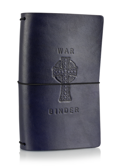 Midnight War Binder | Classic Collector's Hand Tooled