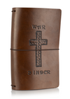 Classic Collector's Hand Tooled 'Cocoa War Binder'