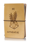Classic Collector's Hand Tooled 'Be Authentic'