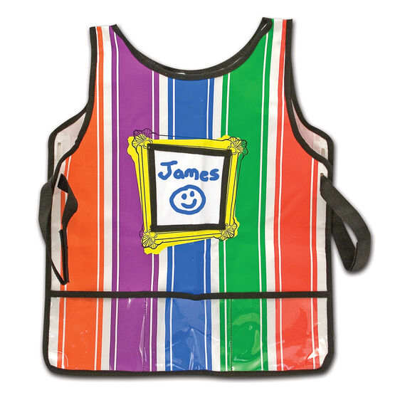 Durable Artist's Smock From Melissa And Doug