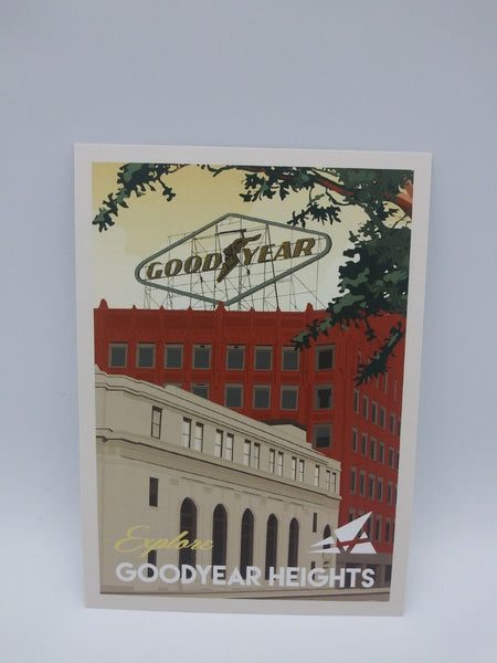 Postcard Set of 12 Explore Goodyear Heights Postcards